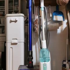 Shark シャーク スチームモップ(モップ、雑巾)を使ったクチコミ「「ボクん家のぉ掃除道具」なのだワン! …」