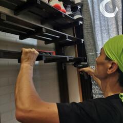 ワトコ社 ワトコオイル浸透性木材用塗料 エボニー 1L W-10(ペンキ、塗料)を使ったクチコミ「「玄関収納、靴棚完成!」なのだワン!🐾 …」(6枚目)