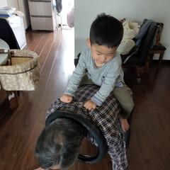 お泊り/猫と暮らす/癒やし/孫バカ 2歳半の孫が一人でお泊り会🧒 下の子が産…(3枚目)
