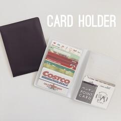 カードホルダー/カード収納/100均/セリア/収納 セリアで購入したカードホルダーがとっても…