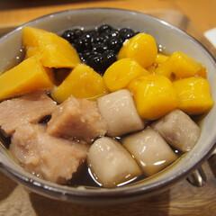 台湾スイーツ/芋圓 暑い夏は台湾スイーツをよく食べに行きまし…