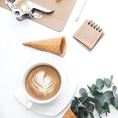 スターフィルター/暮らし/換気扇/掃除グッズ/レンジフード/油汚れ/... キッチンの空気がよいと、 いつものコーヒ…