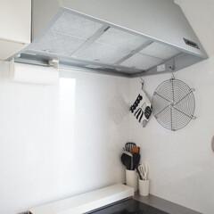 スターフィルター/すっきり/キッチン/整理整頓/掃除/掃除グッズ/... すっきりと無駄のないキッチン。 清潔で、…