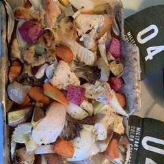 野菜たくさん食べれる/キッチン 鶏ムネ肉と野菜たっぷりぎゅうぎゅう焼き