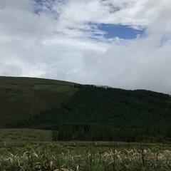 フォロー大歓迎/信州/景色/霧が峰/山並み景色/景色最高/... エルハウスのある長野県は、とても自然が豊…(1枚目)