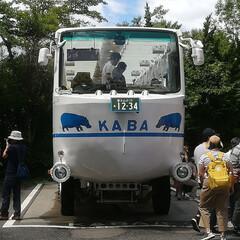 山中湖/旅行/風景/令和元年フォト投稿キャンペーン 水陸両用車 KABA