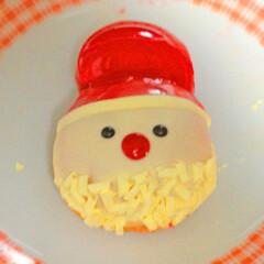 可愛い/サンタさん/パン/ケーキ/皿/ドーナッツ/... 可愛いサンタさん