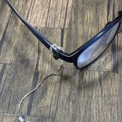 メガネ用アクセサリー/手作りアクセ 眼鏡に付けるアクセサリーです。 私、金属…(2枚目)