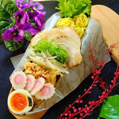 お弁当/つけ麺弁当/つけめん/つけ麺/麺弁当/梅雨/... つけ麺弁当