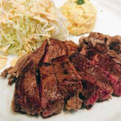 大阪/北新地/ステーキ/お肉/定食/ハンバーグ/... 大阪 北新地で美味しいステーキランチ頂き…