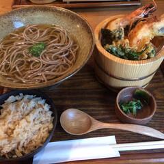 グルメ/ランチ/大阪/北新地/蕎麦/天ぷら/... 大阪北新地でまた素敵なランチのお店を見つ…