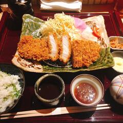 大阪/北新地/ランチ/トンカツ/豚カツ/グルメ 本日のランチはとんかつ! 北新地の串揚げ…
