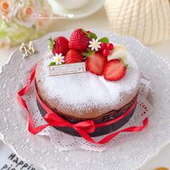chocolate/Cafe/cake/STRAWBERRY/sweets/LIMIAスイーツ愛好会/... 🍫濃厚ガトーショコラ  バレンタインシー…