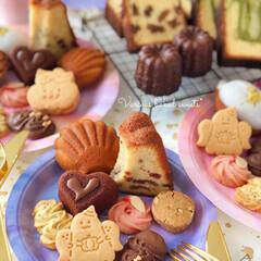 Cafe/cake/sweets/おうちおやつ/おうちカフェ/LIMIAスイーツ愛好会/... 🎉焼き菓子いろいろ  先日作った焼き菓子…(1枚目)