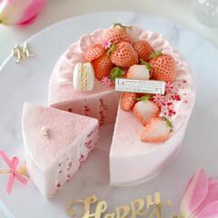Thanks/happybirthday/bithdaycake/sweets/Cafe/STRAWBERRY/... 🎂Happy Birthday to m…(3枚目)