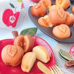 cake/Cafe/Apple/sweets/stayhome/手作りスイーツ/... 🍎りんごケーキ  コロンとしたフォルムが…(2枚目)