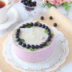 blueberry/crepe/萌え断/ブルーベリー/クレープ/ミルクレープ/... ブルーベリーミルクレープ  ホワイトミ…(2枚目)