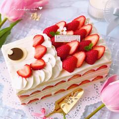手作りお菓子/手作りスイーツ/お菓子作り/デコレーションケーキ/手作りケーキ/鯉のぼりケーキ/... 長かったGWもあと少しに…  明日は5月…
