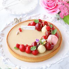 生チョコタルト/アールグレイ/手作りタルト/タルト/sweets/LIMIAスイーツ愛好会/... 🍒アールグレイタルト  アールグレイ香る…(2枚目)