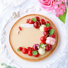 生チョコタルト/アールグレイ/手作りタルト/タルト/sweets/LIMIAスイーツ愛好会/... 🍒アールグレイタルト  アールグレイ香る…(1枚目)