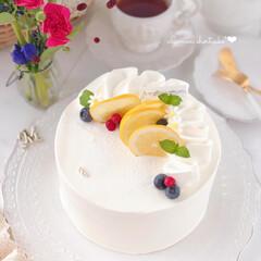 LEMON/sweets/Cafe/cake/萌え断/手作りお菓子/... 🍋レモンショートケーキ  レモンカードを…