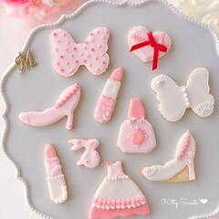 Cafe/cookies/sweets/可愛い/おうち時間/おうちカフェ/... 🎀はじめてのアイシングクッキー  Kit…