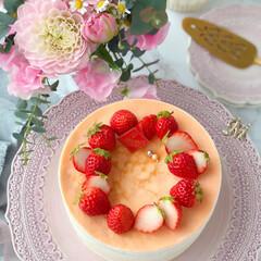 crepe/Cafe/cake/STRAWBERRY/sweets/おうちカフェ/... 🍓いちごのミルクレープ  いちごたっぷり…(4枚目)