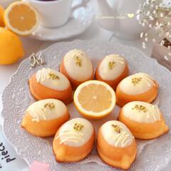Cafe/cake/LEMON/sweets/おうち時間/手作りデザート/... 🍋レモンケーキ  レモンピールも入れてい…