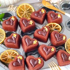 ORANGE/Cafe/cake/オレンジピール/chocolate/sweets/... 🍊オレンジショコラのプチガトー  オレン…