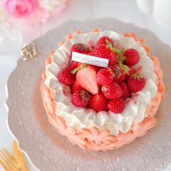 cheesecake/cookies/STRAWBERRY/sweets/Cafe/cake/... 🍓絶望的に可愛いタルト…風  春らしいお…(2枚目)