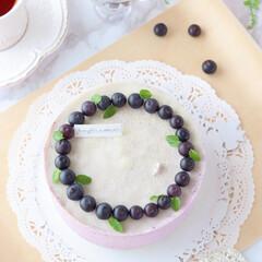 blueberry/crepe/萌え断/ブルーベリー/クレープ/ミルクレープ/... ブルーベリーミルクレープ  ホワイトミ…(3枚目)