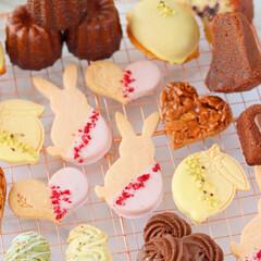 カヌレ/レモンケーキ/フィナンシェ/クッキー/焼菓子/焼き菓子/... 焼き菓子いろいろ🐇💕(3枚目)