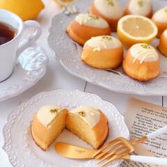 Cafe/cake/LEMON/sweets/おうち時間/手作りデザート/... 🍋レモンケーキ  レモンピールも入れてい…(2枚目)