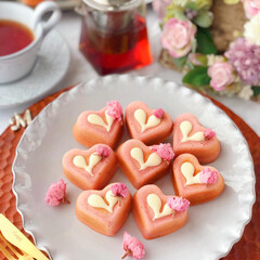 SAKURA/cake/Cafe/sweets/手作りケーキ/手作りデザート/... 🌸桜ケイク  ほんのり可愛い桜色が春にぴ…(1枚目)