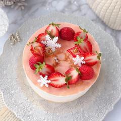 STRAWBERRY/Christmas/クリスマス/cake/Cafe/sweets/... 🍓苺のミルクレープケーキ  ケーキのよう…(4枚目)
