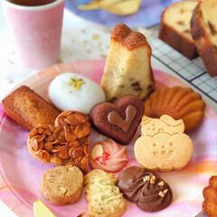 Cafe/cake/sweets/おうちおやつ/おうちカフェ/LIMIAスイーツ愛好会/... 🎉焼き菓子いろいろ  先日作った焼き菓子…(2枚目)