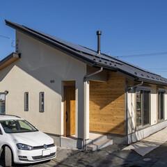 新築/注文住宅/平屋/薪ストーブ/煙突