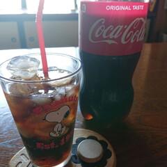夏には欠かせない/コカコーラボトル/暮らし 🍀コカ・コーラ🍀  今日も暑いですね! …