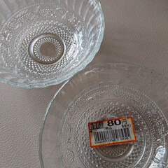 夏/ワゴンセール/購入品 🍀赤札🍀  硝子の小鉢が ワゴンのなかに…