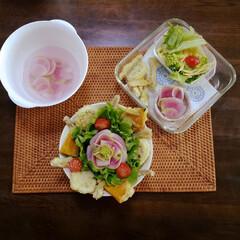 アイデア/おうちごはん/食事情/暮らし お昼ご飯をたべようと、夕べの残りものを見…(3枚目)