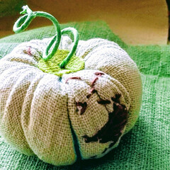 手しごと/雑貨/ハンドメイド ♡かぼちゃ  かぼちゃを創作してみました…