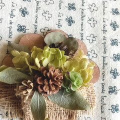 植物/雑貨/インテリア/ハンドメイド/花 ♡ドライフラワー ♡木の実 ♡コースター…