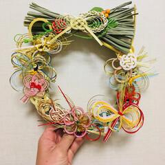 水引/ご祝儀袋/結婚式/お正月飾り/お正月/DIY/... 10月に結婚式を挙げました。  ご祝儀袋…