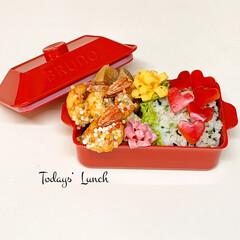 ランチボックス/BRUNO/おべんとう/lunch/フォロー大歓迎/LIMIAファンクラブ/... 今日のお弁当...♪*゚ . お早うござ…(1枚目)