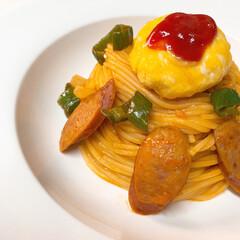 イタリアン/手作り/お昼ごはん/スパゲティ/lunch/pasta/... lunch〜゚・*:.。❁  今日はナポ…