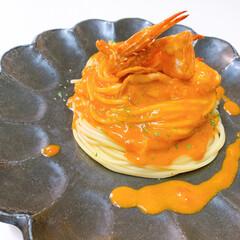 lunch/パスタ/イタリアン/スパゲティ/令和の一枚/フォロー大歓迎/... lunch゚・*:.。❁ カニクリームパ…