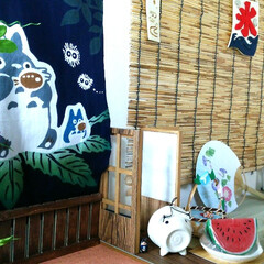 日本の夏/縁側/風景/和/夏のお気に入り 日本の夏!縁側風景