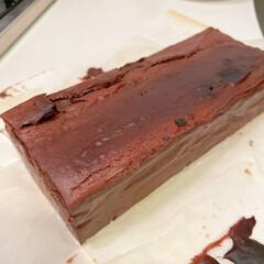 チョコレートチーズケーキ/チーズケーキ/手作りお菓子/お菓子作り/バレンタイン/ホワイトデー/... チョコレートチーズケーキを焼きました! …(4枚目)