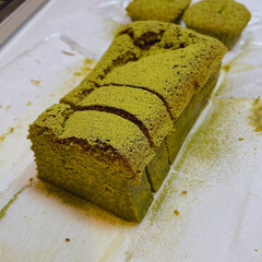 抹茶/ガトーショコラ/焼き菓子/お菓子作り/お菓子/スイーツ部/... 抹茶ガトーショコラを作りました!🍵 追い…(1枚目)