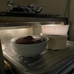 チョコレート/焼き菓子/お菓子/おうち時間/ホワイトデー/バレンタイン/... ガトーショコラを焼いてみました!  お菓…(2枚目)